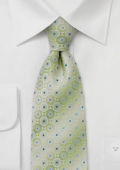 Handmade Silk Ties - handmade silk neck tie in light green silk tie in moss