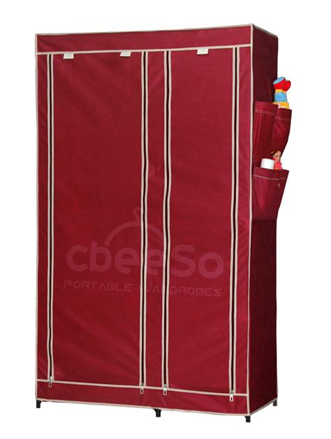 branded portable folding collapsible wardrobe