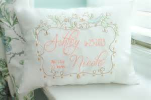 personalized baby pillow embroidered decorative pillow