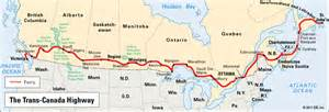 trans canada hwy map trans canada highway location encyclopedia