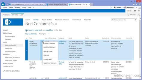 sharepoint workflow foundation cr 233 ation d une liste personnalis 233 e avec sharepoint