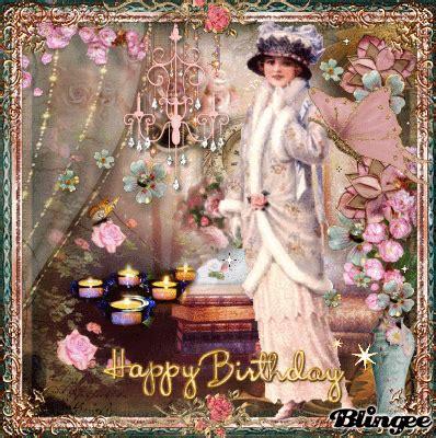 victorian vintage happy birthday picture 130076030