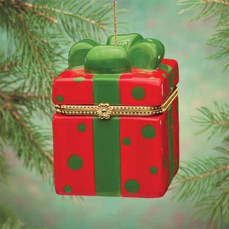 trinket box ornament porcelain gift box ornament miles