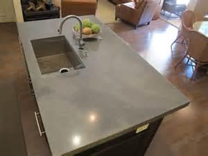 concrete kitchen island concrete kitchen island faux look