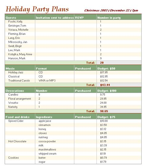 microsoft templates for budgets 28 holiday budget template christmas gift and