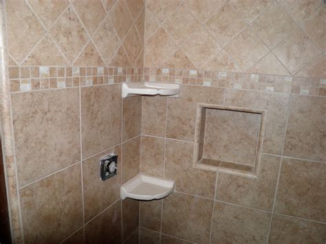 Bathroom Tile For Floors And Showers H H Huehl Construction Tiling A Bathroom Shower