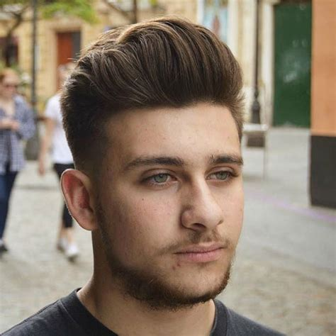 hairstyle for chubby cheeks male best hairstyles for men with round faces men s