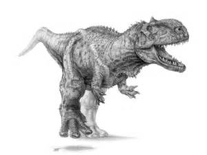 Coloriage De Dinosaure Carnivore 1001 Animaux