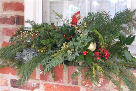 outdoor window holiday swag eclectic exterior other metro by easydesigns