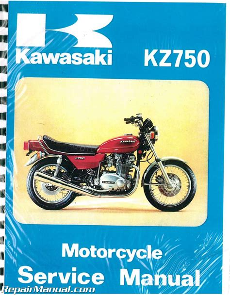 Kawasaki Motorcycle Service by 1976 1979 Kawasaki Kz750 B Motorcycle Service Manual
