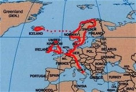 map netherlands and denmark world s most travelled motorcycle a motorcycle trip to