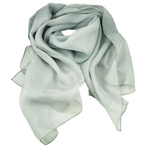 Plain Chiffon Scarf plain light grey chiffon scarf from ties planet uk