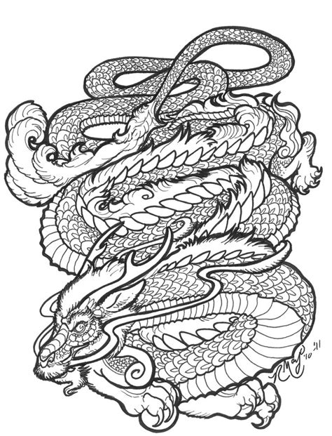 dragon mandala coloring page 17 best images about coloring pages on pinterest