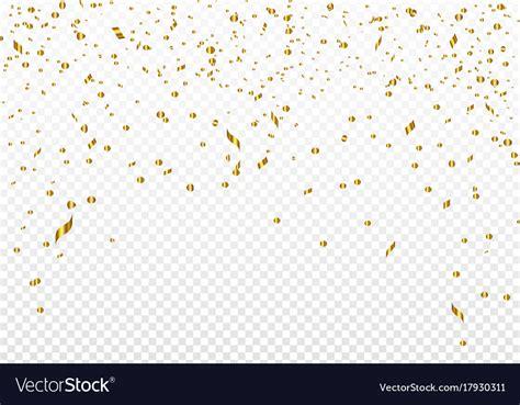 gold confetti background celebration background template with gold confetti