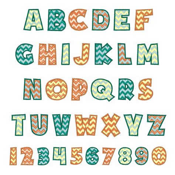 chevron pattern font free download chevron font by hopscotch home format fonts on