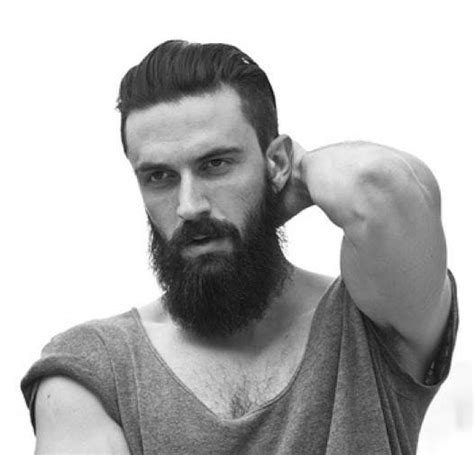 gelled comb back hipster haircut slicked back undercut hairstyle guide for men slicked