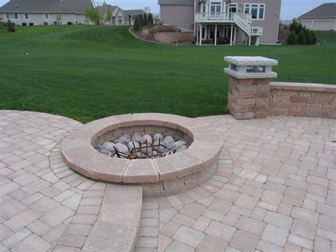 wi landscape fire pit pits outdoor fireplaces muskego wi
