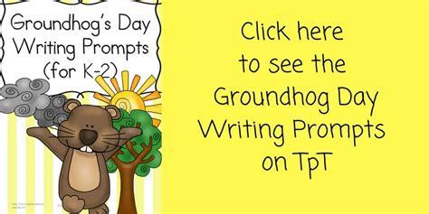 groundhog day journal prompts groundhog day writing prompts for kindergarten 2nd grade
