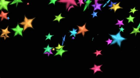 swinging on a star cartoon abstract cgi motion graphics and animated background with