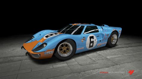 gulf racing truck ford gt40 m k ii gulf race car by outcastone on deviantart