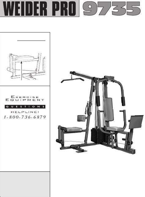 weider pro 9735 owner s manual for free manualagent