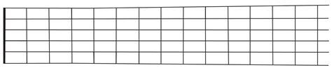 fret template fretboard template pictures to pin on pinsdaddy