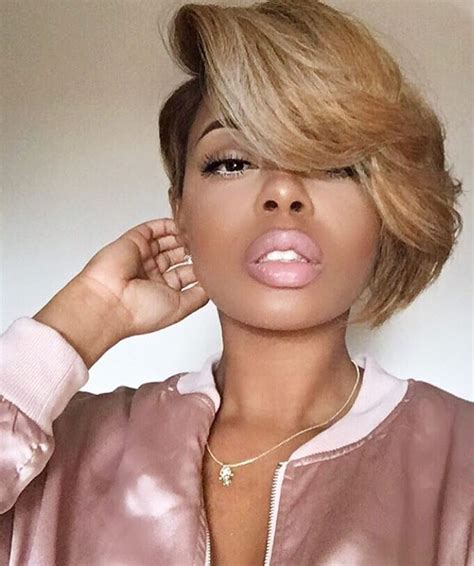 short hairstyles for ebony light skin fat face 80 cool short haircuts for black women best in 2016