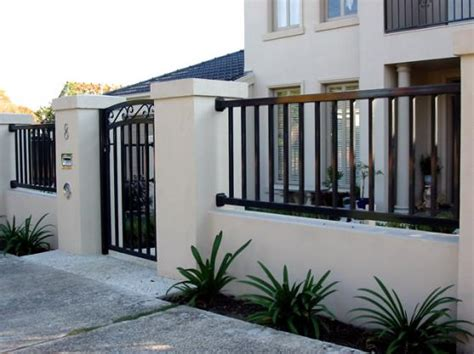 modern house gates and fences designs modern fence and gate philippines joy studio design gallery best design