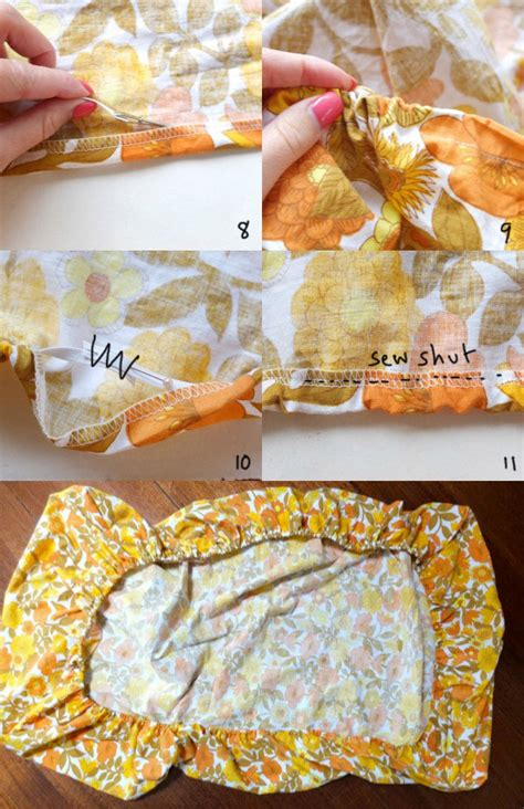 how to make a fitted sheet my poppet makes