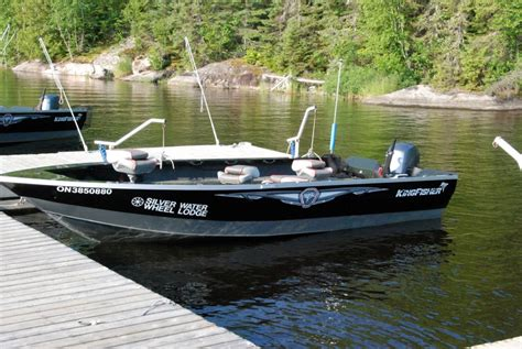 kingfisher walleye boats guide boats silver water wheel lodge