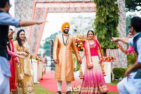 Sikh  Ee  Wedding Ee   Rituals Mesmerizing Lorful Lovevi H