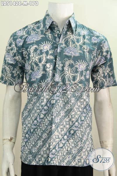 Baju Pakaian Pria Busana Kemeja Pendek Motif Batik Murah 3 busana batik modis desain motif berkelas modern klasik pakaian batik pria muda lengan pendek