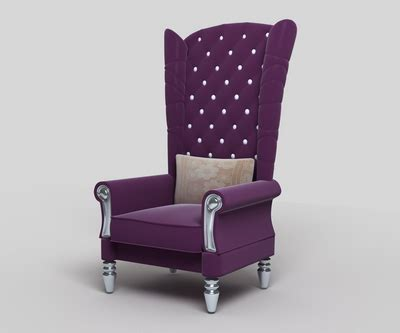 high back settee keoki 3d high back settee with arms purple high back sofa 3d model 3d model download free 3d