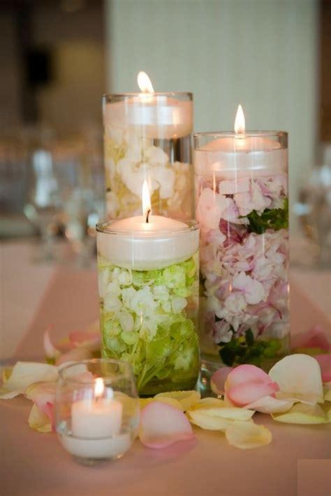 creare candele colorate decorazioni estive fai da te con i fiori