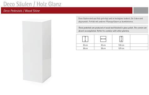 Holz Lackieren Schwarz Hochglanz by Deco S 228 Ule Schwarz Hochglanz Lackiert Terrapalme
