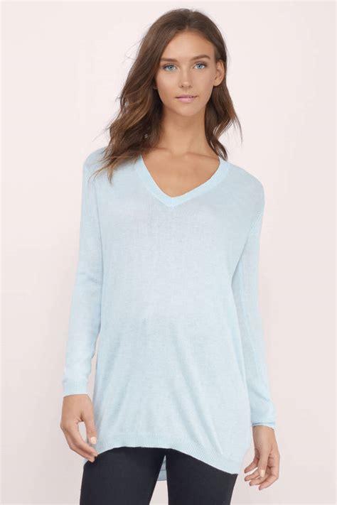 light blue cardigan sweater light blue sweater blue sweater v neck sweater 10 00