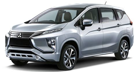 mitsubishi expander mitsubishi expander revealed mpvs and crossovers