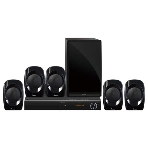 impecca home theater system  channel surround sound