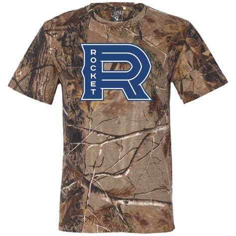 laval rocket sleeve camouflage t shirt