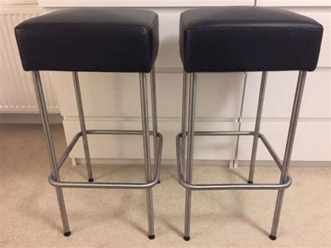 ikea julius bar stool 2 ikea julius black padded kitchen stools victoria city