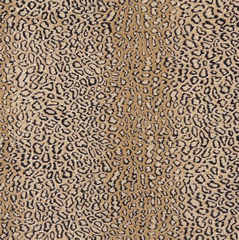 leopard print upholstery fabric tan beige and black leopard faux animal print microfiber