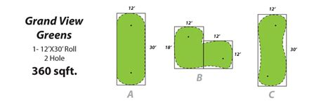 backyard putting green accessories top 28 putting green size indoor putting green in