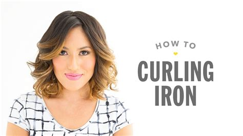 how to use curling iron youtube drybar videos curling iron