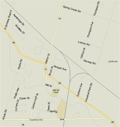 smithville map ontario listings canada