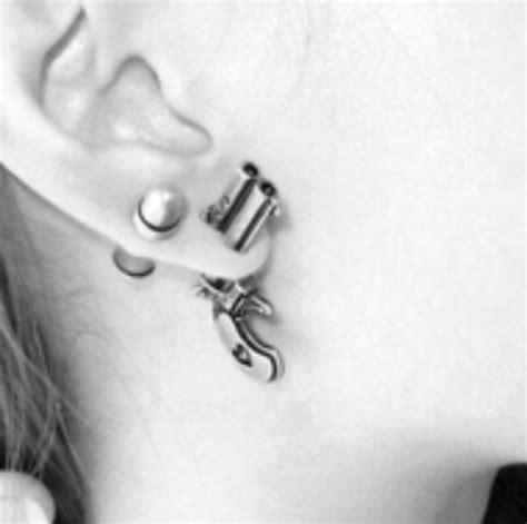 Get The Look Fergies Cool Earrings by Jewels Gun Bullet Cool Earrings Ear Vans Warped