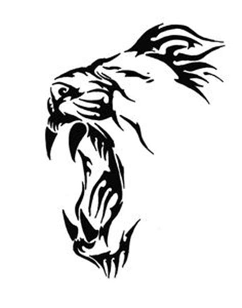 easy lion tattoo designs simple tatto of lion clipart best