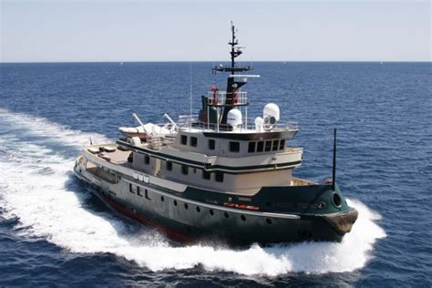 luxury tugboat yacht you ll love this super yacht that looks a tug boat elite