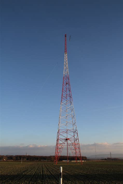 radio tower the prangins transmitter