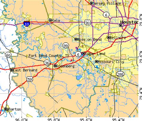 map of fort bend county fort bend county detailed profile houses real