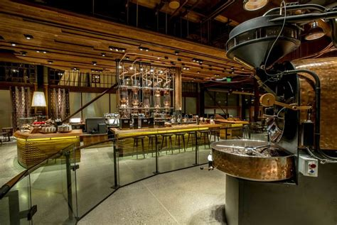 Starbucks' Reserve Roastery and Tasting Room Opens on Capitol Hill   Seattle Restaurants